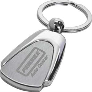 Hudson - Key Tag Rounded Triangle