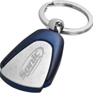 Georgia - Rounded Triangle Key Tag