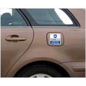 Car Sign Rnd Corner Magnet 3-3/4 x 3-3/4