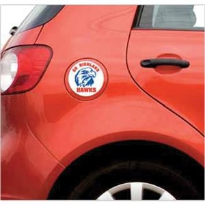 Car Sign Circle Magnet 3-3/4 Diameter