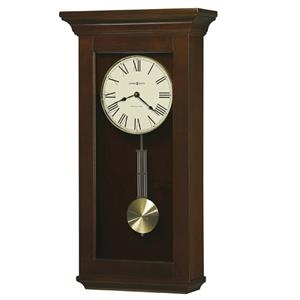 Continental - Cherry Bordeaux Clock With Single Chime Movement