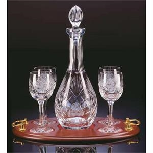 Westgate Crystal (tm);windsor - Set Of Four Wine Glasses