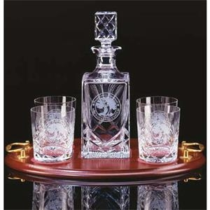 Westgate Crystal (tm) - 26 Ounce Spirit Decanter