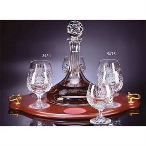 Westgate Crystal (tm) - Set Of Two Full Lead Crystal 10 1/2 Ounce Brandy Glasses