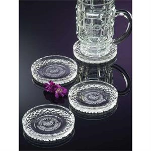 "Westgate Crystal (tm) - Cut Glass Coaster, 2"" X 2"""