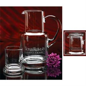 Hand Blown Executive Set Includes 28 Ounce Pitcher And 8 Oz. Tumbler