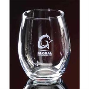 Stemless Wine Glass, 9 Oz
