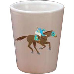 Full Color Shot Glass, 1.5 Oz