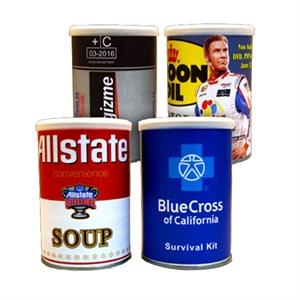 Custom Imprinted Cans