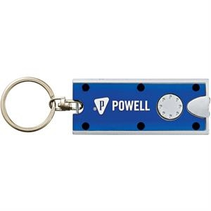 Double Trouble - Keychain With 2 Led Lights, Batteries Included