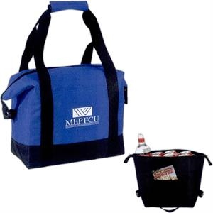 Silkscreen - Leak-proof 16-can Cooler Tote Bag With Front Pocket And Carrying Handles