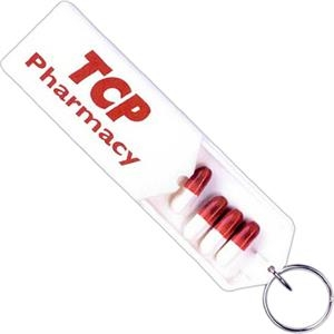 Key Ring Pill Box