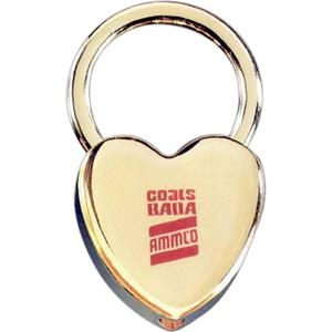 Heart Key Tag