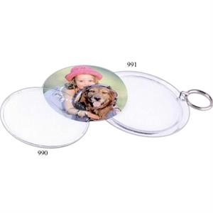 Snap-in Key Tag, Insert Size 2 - 2 1/4""