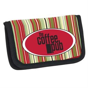 P.k. Reese (tm) - Tuscon Designer Pattern Business Card/atm Card Holder With Vinyl Pockets