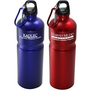 Urban - 27 Oz Aluminum Sports Bottle With Carabiner