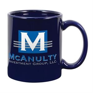 Creative Mugs (tm) - Cobalt, Standard Color Ceramic Mug, 11 Oz
