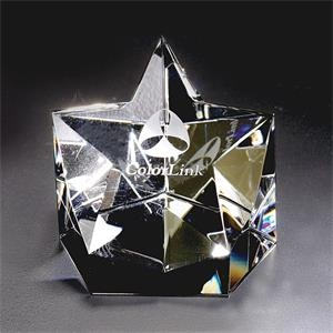 Starlight - Starlight Crystal Paperweight By Crystal World