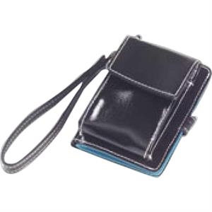 Wellie - Shiny Coated Canvas Cell Phone Wallet