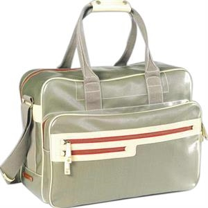 Carina - Coated Canvas Weekend Bag
