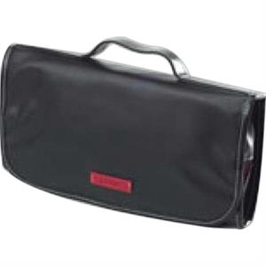 Carina - Coated Canvas Hanging Cosmetic/toiletry Case