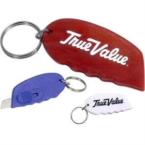 Large Handy Cutter With Keyring, Sliding Thumb Grip And Safe, Retracting Blade