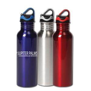Quenchmaster - 24 Oz Single Wall Stainless Steel Canteen