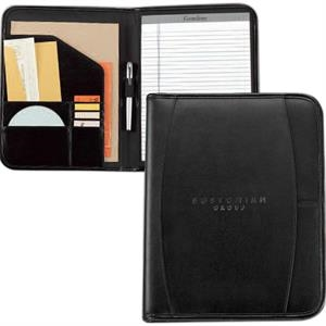 Contemporary - Leather Writing Pad With Multi-function Organizer