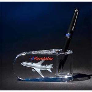 Crystal Tear Drop Pen Holder