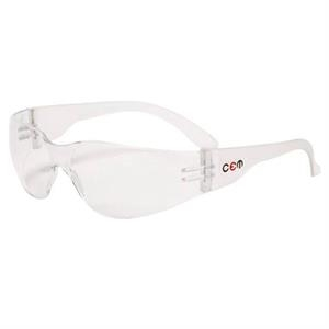 Monteray - Clear Lens - Safety Glasses With Single Curved Lens Design