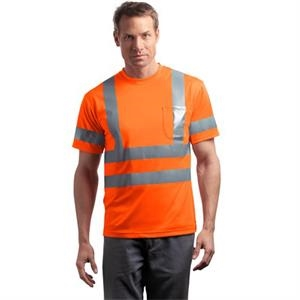 Cornerstone (r) By Port Authority (r) - 2 X L All Colors - Ansi Class 3 Short Sleeve Snag Resistant Reflective T-shirt