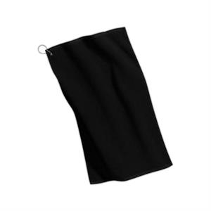 Port Authority (r) - Grommeted Microfiber Golf Towel, Poly/cotton Blend