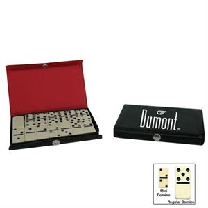 Custom Imprint These Mini Dominoes Sets With The Design And Message Of Your Choice