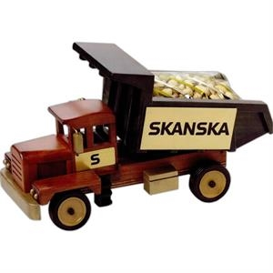 Praline Pecans In An Imported Wooden Dump Truck