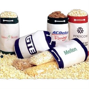 Three-way Popcorn Sampler In An Imported Canvas Duffel Bag