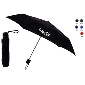 "Nylon Manual Opening Umbrella With Lightweight Frame, 8 Panels And 42"" Arc"