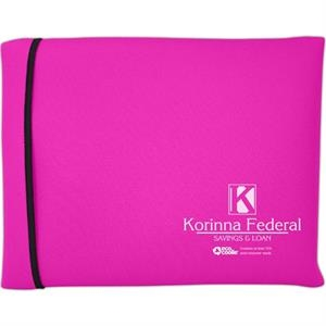 "Wraptop (tm) Eco Coolie (tm) - Standard Size Foam Laptop Sleeve With Fold Over Closure, 12.8"" X 9.4"" X 1.5"""
