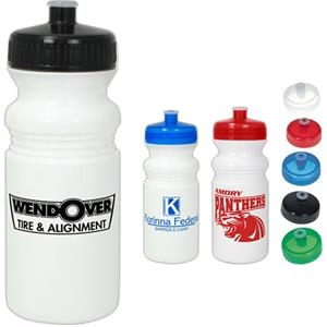 Bio-plastic 16 Oz. Bike Bottle With Sip Through Lid