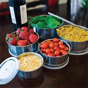 10 Piece Stainless Steel Bowl Set