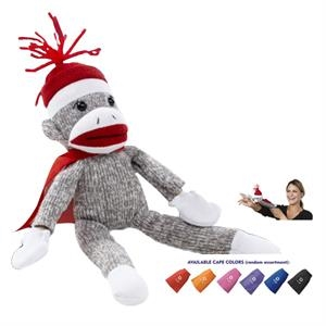 Flying Shrieking Sock Monkey Noisemaking Toy