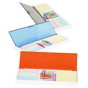 Kit With Ruler, Sticky Notes, Sticky Flags, Paper Clips