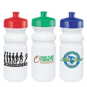 Water Bottle With Wide Mouth Design And Pull-spout, 20 Oz