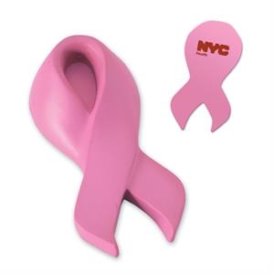 Pink Awareness Ribbon Stress Reliever