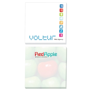 "25 Sheets - Adhesive Notepad, 3"" X 3"". Always In Stock"