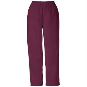 Cherokee - Wine - Sa4001 Pull-on Scrub Pant Sa4001 - 28 Colors Available