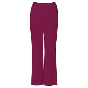 Cherokee - Wine - Sa4112 Stitch Crease Scrub Pant - 16 Colors Available