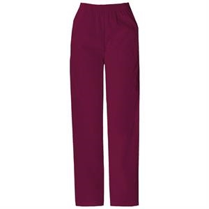 Dickies (r) - Wine - Sa850506 Elastic Waist Scrub Pant - 20 Colors Available