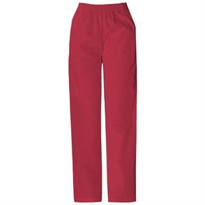 Dickies (r) - True Red - Sa850506 Elastic Waist Scrub Pant - 20 Colors Available