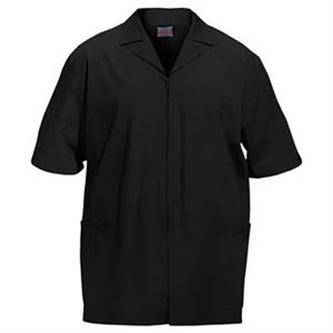 Cherokee - Black - Sa4300 Men's Zip Front Scrub Jacket - 11 Colors Available