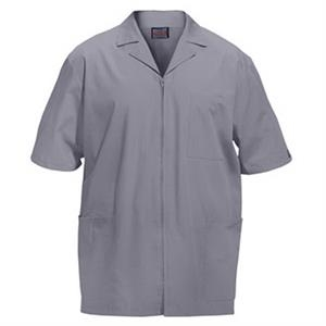 Cherokee - Gray - Sa4300 Men's Zip Front Scrub Jacket - 11 Colors Available